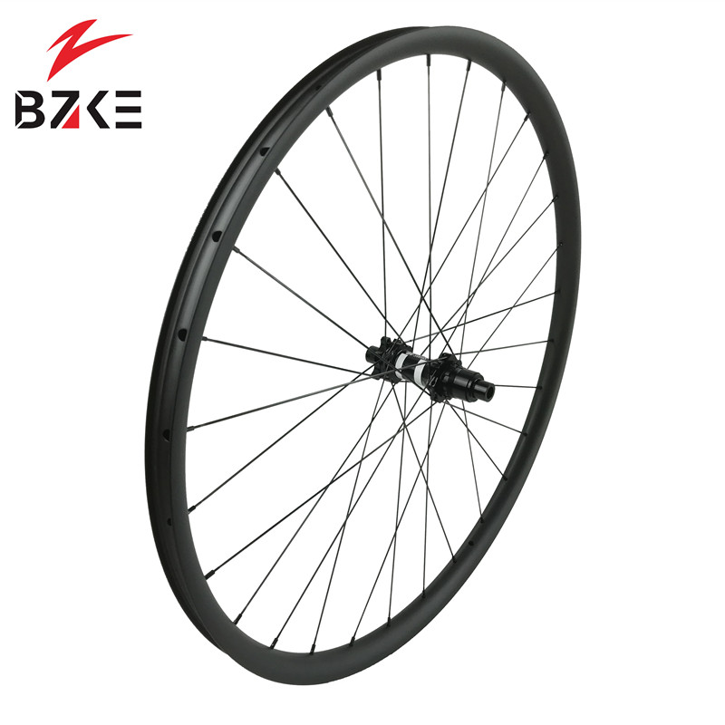 Image 3 - BZKE carbon wheels 30mm width 29 inch carbon mtb bicycle wheelset boost  carbon mtb wheels 29 bike wheelset 350 hubs-in Bicycle Wheel from Sports & Entertainment