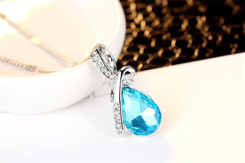 NS-CN106 Crystal necklace (1)