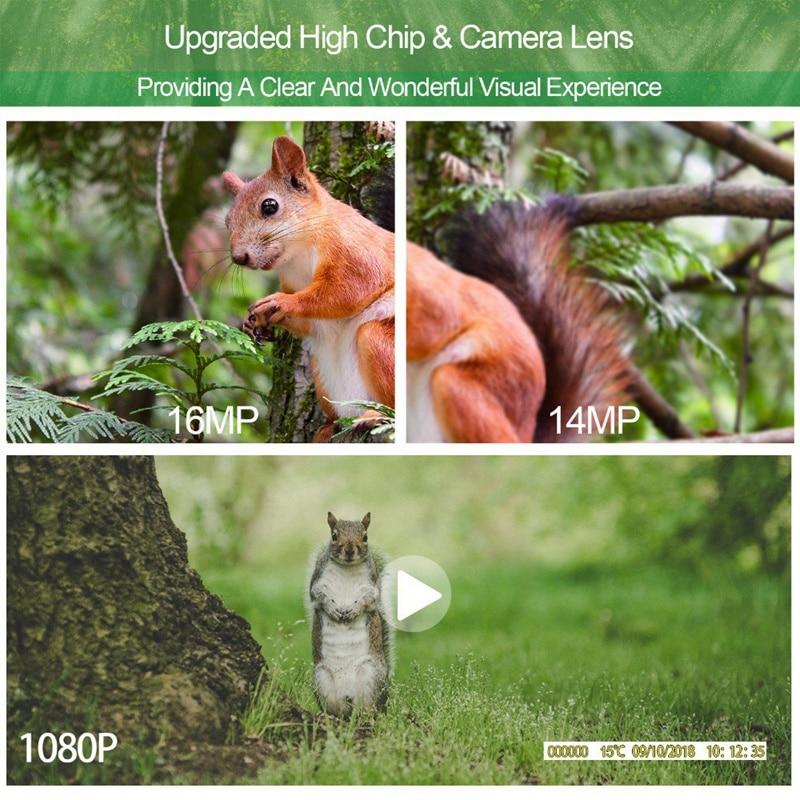 MOOL Hc801A Caça Câmera Câmera Trilha 16Mp