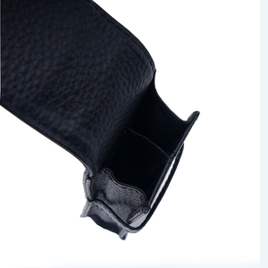 Image 5 - Wancher Two pen packed Kraft pen bags separated by two sided leather of pure color stationery case