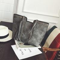 YBYT Brand 2017 New Vintage Casual Large Capacity Women Handbags Hotsale Ladies Shopping Bag Shoulder Messenger