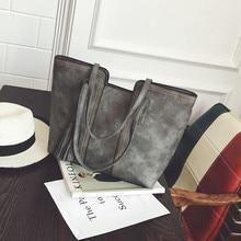 YBYT brand 2018 new vintage casual large capacity font b women b font handbags hotsale ladies