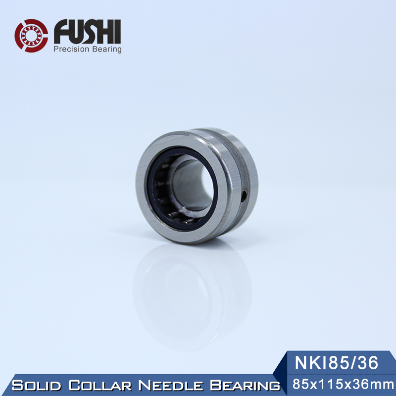 NKI85 36 Bearing 85 115 36 mm 1 PC Solid Collar Needle Roller Bearings With Inner
