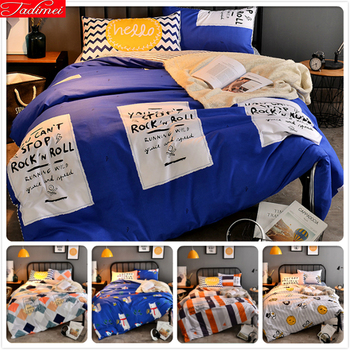 Креативный набор постельных принадлежностей из 3/4 предметов для мужчин, двойная королева, королева, король, полный размер, пододеяльник 1,5 м,...
