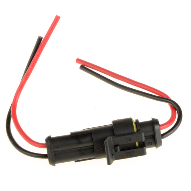 hot sale 2 pin electrical wire connector plug motorcycle