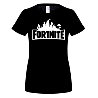 GILDAN 100 Cotton O Neck Printed T Shirt Fortnite Art Title Black T Shirt Brand T
