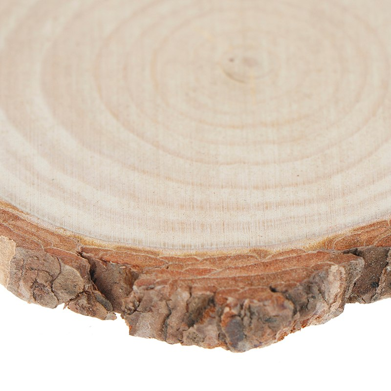 Rodaja de madera natural Taza Mantel de montaña rusa Mat Pad para fuentes de Cocina de Té Bebidas