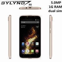 Gốc Trung Quốc điện thoại di động BYLYND X6 giá rẻ celular 5.0