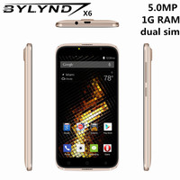 Original China Mobile Phones BYLYND X6 Cheap Celular 5 0 5MP Android 6 0 Smartphones 3G