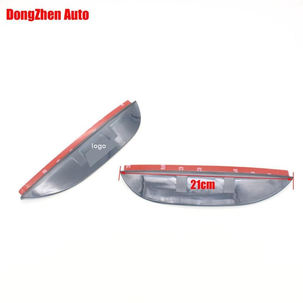 1Pair Rearview Mirror Rain Eyebrow Reflective Mirror Side Mirror Rain Visor Accessories For Ford KUGA