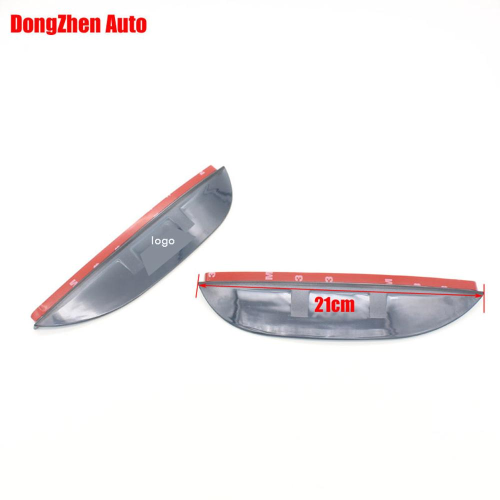1Pair Rearview mirror rain eyebrow reflective mirror side mirror rain visor accessories For Ford KUGA