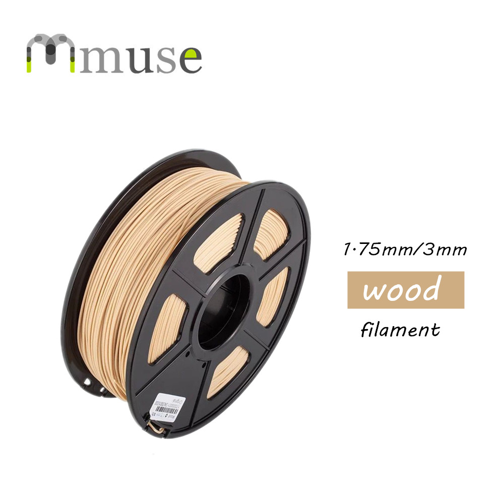 1KG Wood Filament 1.75mm & 3mm 3D Printer Filament high quality wood lubricious 3d printer filament 1 75mm 3mm 1kg wholesale price by dhl and fedex ie free shipping