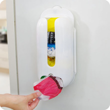 New Kitchen Plastic Bag Dispenser Cabinet Drawer Kitchen Organizer Storage  Bag Holder Grocery Bag Cabinet Mount,free Shipping