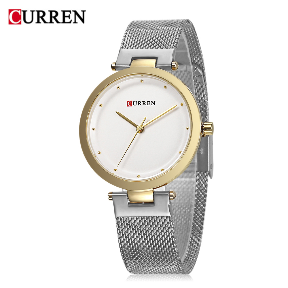 CURREN 9005 Luxury Women Watch Famous Brands Gold Fashion Design Bracelet Watches Ladies Women Wrist Watches Relogio Femininos wholesale drop shipping (9)