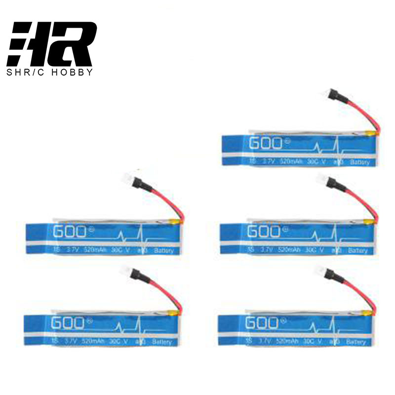 все цены на WLtoys V930 V977 XK K110 RC Helicopter Spare Parts accessories 3.7V 520mAh 30C Upgraded Li-po Battery онлайн
