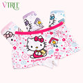 V-TREE 2-10Y Hello kitty panties for girls cotton girl underwear cartoon briefs for girls children underwear baby girl panties