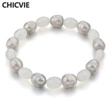 Chicvie белые фотообои изготовленные на заказ жемчужные браслеты