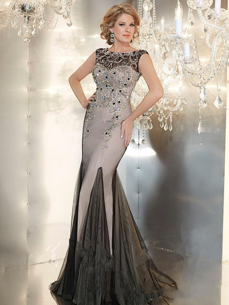 Y Designer Long Evening Gowns Crystals Beaded Dresses 2016 Luxury Mother Of The Bride Satin And Organza In From