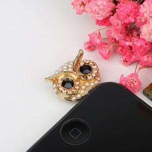 CatXaa Owl 3.5mm Dust Plug Cap