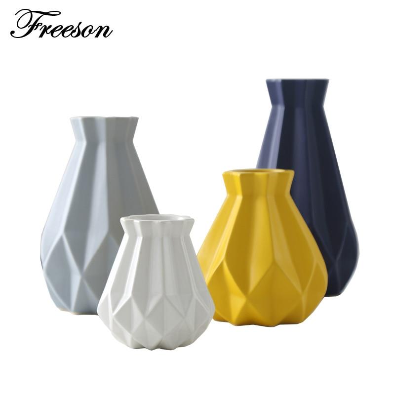 Diamond Porcelain Vases 1