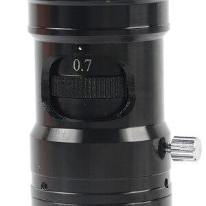 Image 5 - 180X/300X Koaksiyel zoom objektifi Farı ücretsiz Koaksiyel Işık C montaj Mikroskop Aksesuarları Için HDMI VGA USB Viedo dijital kamera