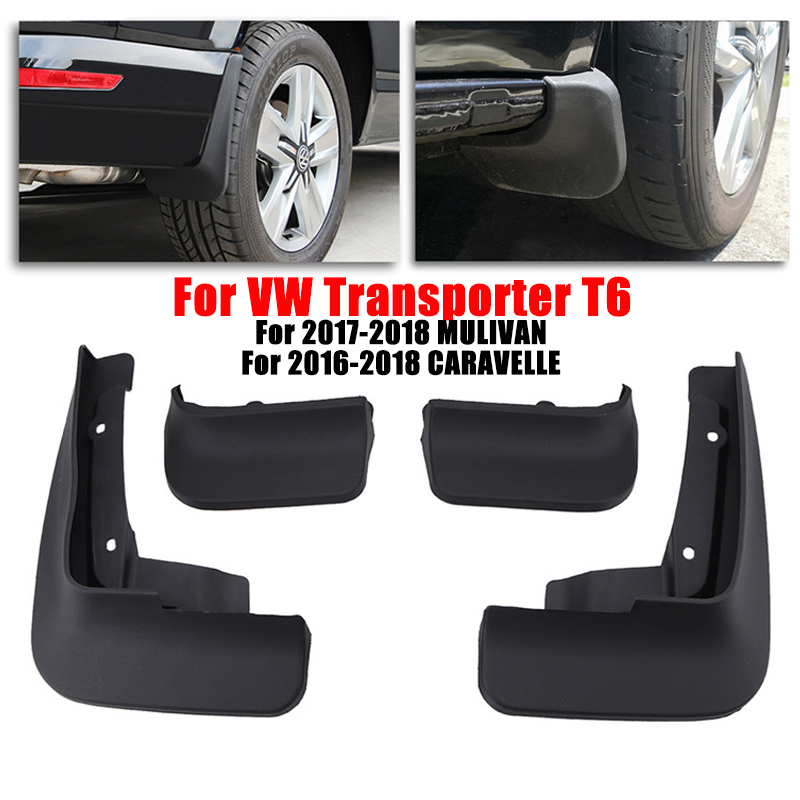 For VW Transporter T6 Mud Flap Splash Guard Fender Mudguards Front Rear For Volkswagen 2017 2018