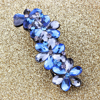 2014 yeni moda saç aksesuarı kristal tokalar saç klip rhinestone barrette saç takı (No Min Sipariş)