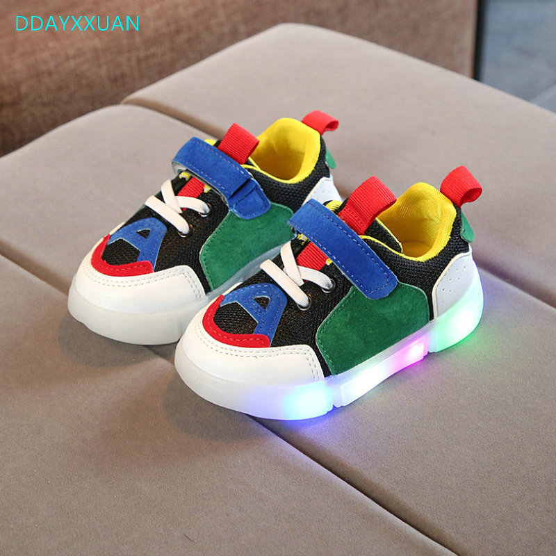 New Spring Autumn Glowing Girls Sneakers Kids Basket Led Children Lighting Shoes Boys illuminated Luminous SneakerNew Spring Autumn Glowing Girls Sneakers Kids Basket Led Children Lighting Shoes Boys illuminated Luminous Sneaker