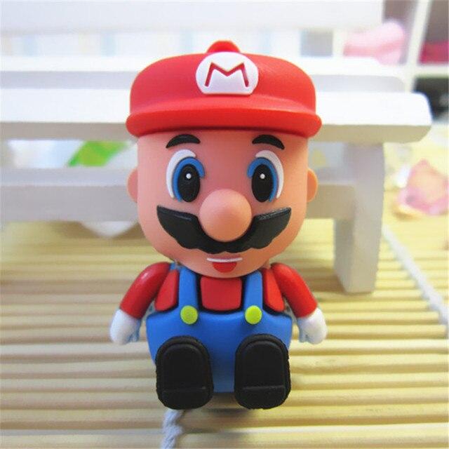 Super Mario pendrive full capacity Cartoon characters 8GB 16GB 32GB 64GB