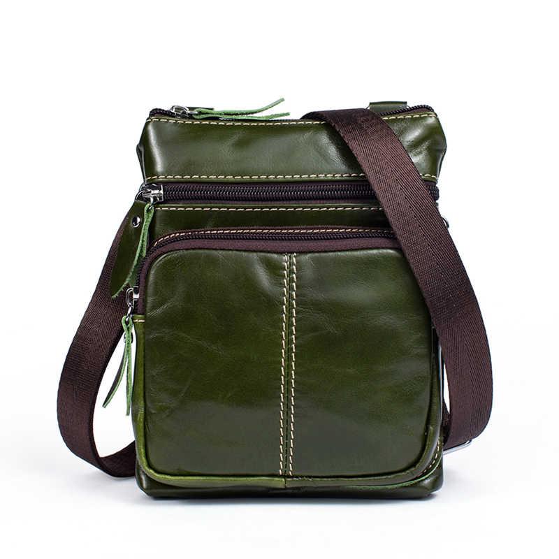 3f0539e9b7a6 ... WESTAL мужская сумка на плечо из натуральной кожи сумка через плечо  мужская сумка-мессенджер кожаная ...