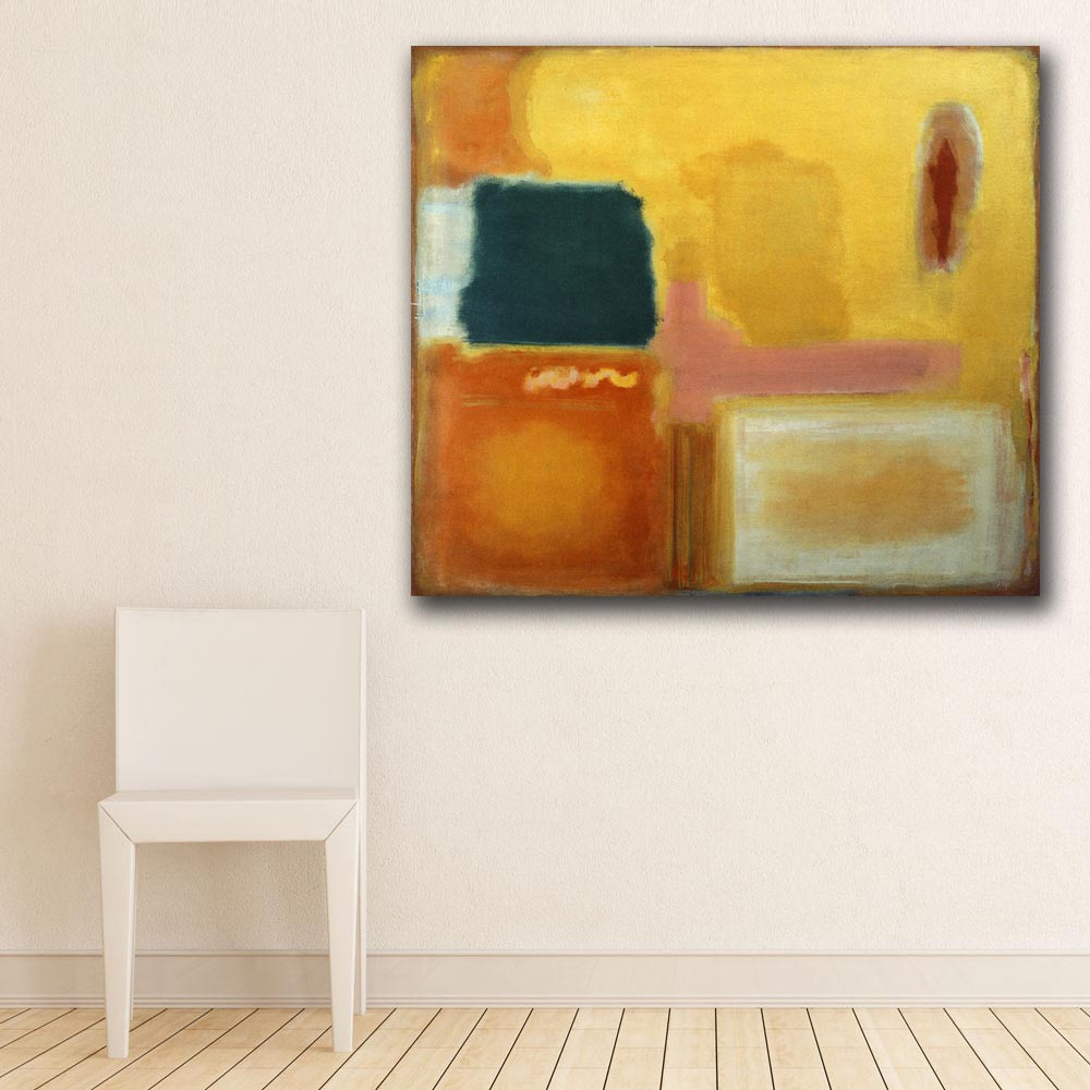 Wall Pictures For Living Room Abstract Mark Rothko Mauve Intersection Canvas Art Home Decor Modern No Frame Oil Painting