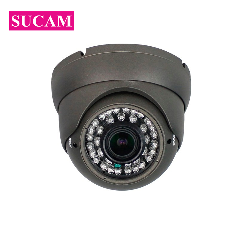SUCAM Vandal Proof 2.0MP IP Network CCTV Camera 2.8-12mm Varifocal Lens 2MP POE Security Video Surveillance Camera-IP for HouseSUCAM Vandal Proof 2.0MP IP Network CCTV Camera 2.8-12mm Varifocal Lens 2MP POE Security Video Surveillance Camera-IP for House