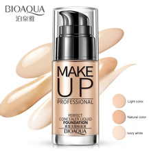 30ml BIOAQUA Natural BB Cream Base Foundation Make Up Whitening Face Cream Moisturizing Long Lasting Waterproof Nude Makeup Care bioaqua brand 2 in 1 base makeup bb cream primer foundation make up flawless maquiagem whitening cosmetic corrector naked makeup