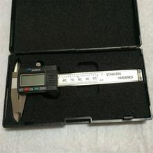 New Arrival 100mm 4 inch LCD Digital Electronic Carbon Fiber Vernier Caliper Gauge Micrometer Measuring Tool