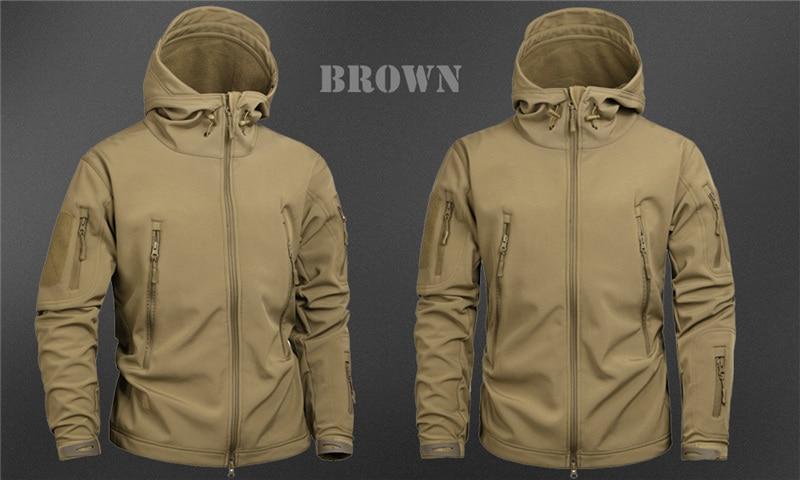 HTB14oZNazzuK1Rjy0Fpq6yEpFXad MEGE Men's Military Camouflage Fleece Tactical Jacket Men Waterproof  Softshell Windbreaker Winter Army Hooded Coat Hunt Clothes