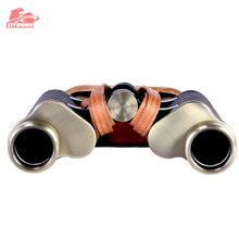 ZIYOUHU 6X24 Bronze Collection Telescope Zoom Hunting Binoculars High Definition Camp Hiking Night Vision Telescope Large Size