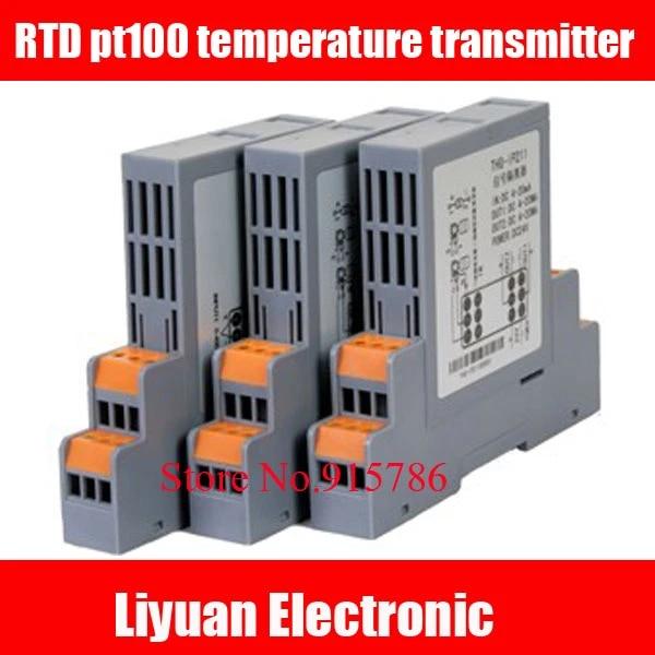 Transmetteur De Temperature Rdt Pt100 1 Dans 1 Isolateur De Signal Module De Convertisseur De Capteur De Tag Tr 4 20ma 0 10v 5v Aliexpress
