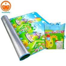 180 см складной детские ковер игровой коврик для детей Сканирование мат ребенка играть игровой коврик Детские ползунки Одеяло Пикник Кемпинг коврик PX25