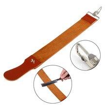 Pro Barber kahekihiline ehtne nahast raseerimisstrop sirge raseerija teritajaga rihma rihm Vajalik raseerimisrihma tööriist
