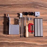 Новейшая 360 роторная профессиональная система Точилки для кухонных ножей pro lansky apex afilador с 3 шт. алмазным точильным камнем 240 #600 #1000 #