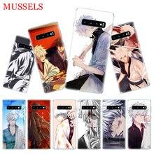 Gintama Japan Anime Phone Cases For Samsung Galaxy S9 S8 A6 A8 J4 J6 + Plus A7 A9 J8 2018 Note 9 8 S7 S6 Edge Cover
