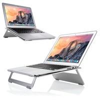 Aluminum Laptop Stand Adjustable Lapdesks New Laptop Stand Holder With Cooling Tablet Dock Holder Bracket For