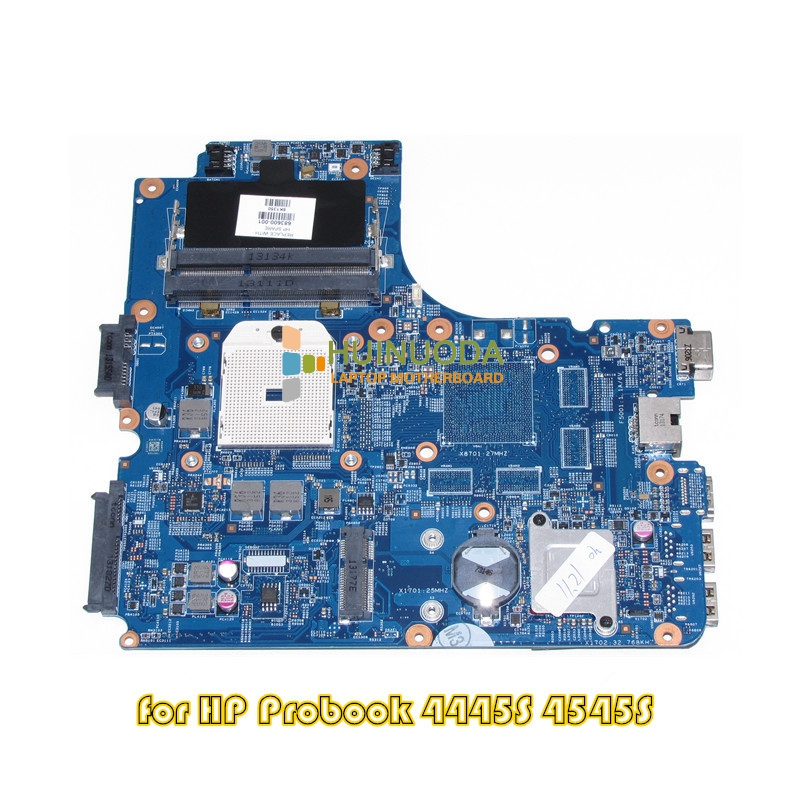 NOKOTION 683600-001 683600-501 Main Board For HP Probook 4445S 4545S Laptop motherboard Socket fs1 DDR3 48.4SM01.011 744020 001 fit for hp probook 650 g1 series laptop motherboard 744020 501 744020 601 6050a2566301 mb a04