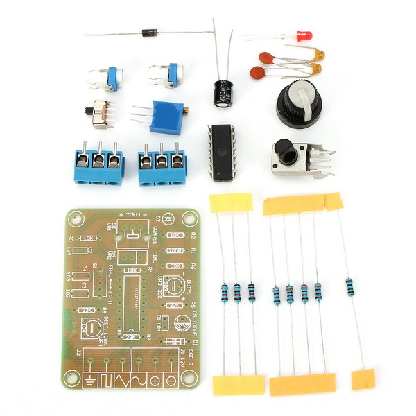New ICL8038 Monolithic Function Signal Generator Module DIY Kit Sine Square Triangle