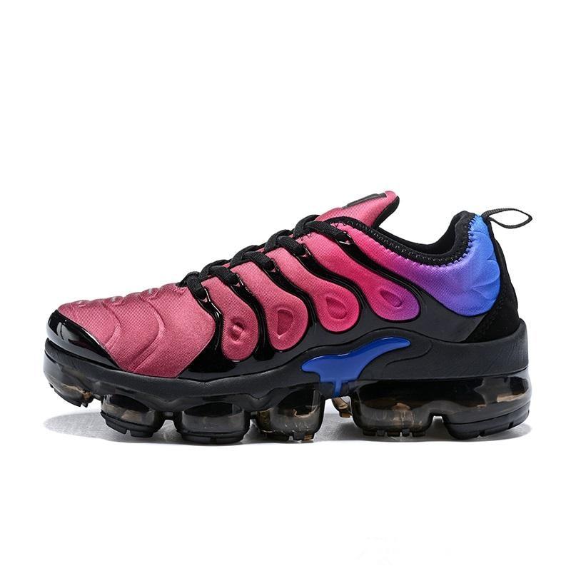 2018 Vapormax TN Plus Hommes de Course Chaussures de Sport Hommes Sneakers Vapormax chaussures femmes sneakers max 45
