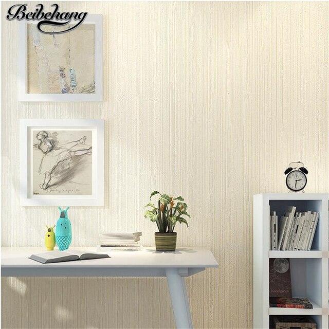 elegant cool best beibehang sencillo y moderno saln dormitorio papel pintado a rayas verticales de color slido simple fondo de pantalla de televisin de - Papel Pintado Rayas Verticales
