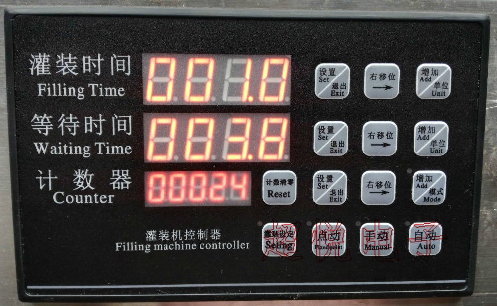 Liquid Filling Machine Controller AC220V Filling Machine Parts Time Control Panel Filling Machine Controller Parts easy operation numerical control liquid filling machine on sale