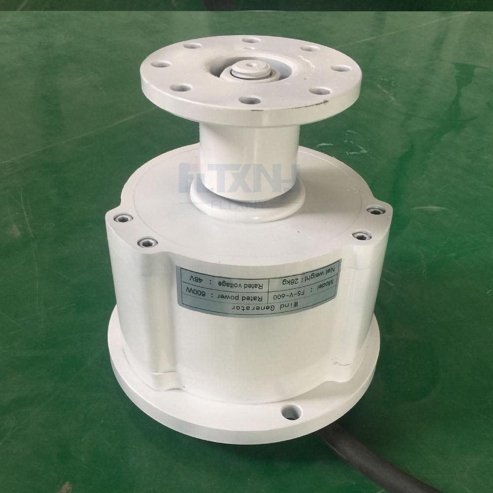 Vertical 600w 48V brushless ac rare earth permanent magnet alternator/ alternative energy generator three phase недорго, оригинальная цена