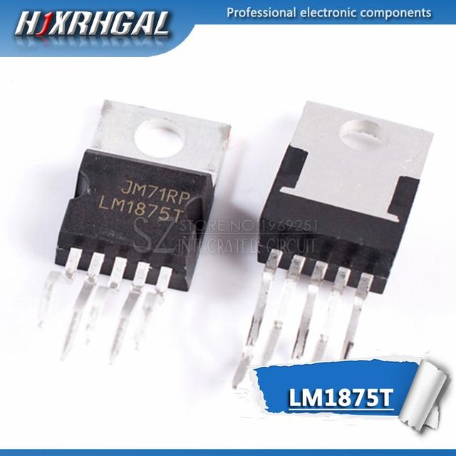 10 PCS LM1875T TO220-5 LM1875 TO220 20 W Âm Thanh Khuếch Đại Công Suất mới và ban đầu HJXRHGAL