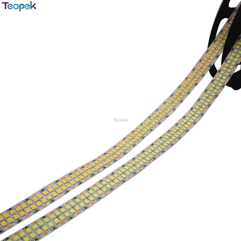 5M Double Row 2835 led strip 480 leds/M 2400 leds White /Warm white IP20 Non waterproof Flexible Tape Rope Stripe LED Light 12V5M Double Row 2835 led strip 480 leds/M 2400 leds White /Warm white IP20 Non waterproof Flexible Tape Rope Stripe LED Light 12V